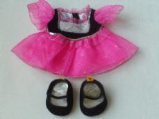 Adorable Build-a-Bear 'Princess' 3-Piece Outfit